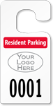 Plastic ToughTags™ Parking Permits, Jumbo