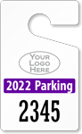 ToughTag™ for Jumbo Numbered Parking Permits