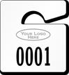 Plastic ToughTags™ Parking Permits, Mini