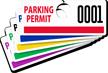 ToughTag™ Mirror Parking Permits (non-blocking)