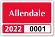 Parking Labels - Design LT3