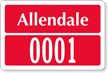 Parking Labels - Design LT7