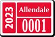 Parking Labels - Design LT10