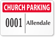 Parking Labels - Design LT12