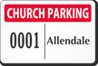 Parking Labels - Design LT12