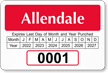 Parking Labels - Design LT15