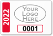 Parking Labels - Design LL5