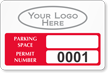 Parking Labels - Design LL8