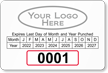 Parking Labels - Design LL15