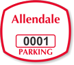 Parking Labels - Design OS4