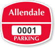 Parking Labels - Design OS6