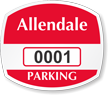 Parking Labels - Design OS7