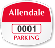 Parking Labels - Design OS8