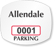Parking Labels - Design OS1A