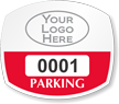 Parking Labels - Design OS6L