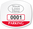 Parking Labels - Design OS7L