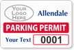 Parking Labels - Design LL17