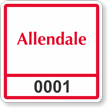 Parking Labels - Design SQ6
