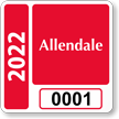 Parking Labels - Design SQ9