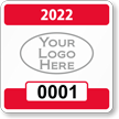 Parking Labels - Design SQ2L