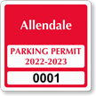 Parking Labels - Design CS2