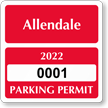 Parking Labels - Design CS3