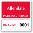 Parking Labels - Design CS4
