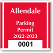 Parking Labels - Design CS6