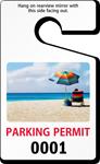 Standard Size PhotoTag Parking Permit