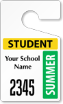 Plastic ToughTags™ for Student Parking Permits