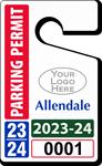 Plastic ToughTags™ Parking Permit Template