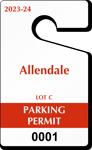 Plastic ToughTags™ Parking Permit Templates