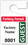 ToughTag™ for Visitors and Guests Parking Permits