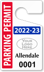 ToughTag™ for Expiration Year Parking Permits