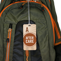 School Pass Backpack After Care Tag