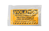 Parking Violation Stickers