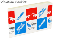Parking Permit Removable Parking Violation Stickers