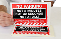 No Parking. Not 5 Minutes. Not 30 Seconds. Not At All!