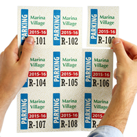 9 Permits/Sheet Paper Parking Permit