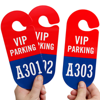 2-Sided VIP Parking Tag