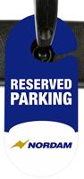 Custom Racetrack Parking Permits