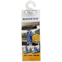 Mirrortag™ Parking Permit Gold Holder