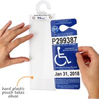 Mirrortag™ Parking Placard