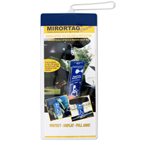 Mirrortag™ Charm Parking Permit Holder
