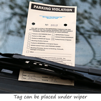 Ncr 2 Part Parking Violation Tags
