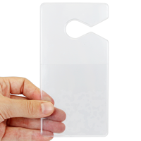 Clear Parking Permit Holder Vertical Hangers