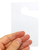 Clear Mirror Hang Tags