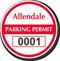 Parking Labels - Design CR4