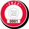 Parking Labels - Design CR7L