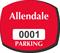 Parking Labels - Design OS1